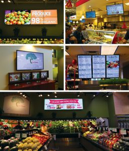 example of using digital signage
