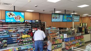Use of digital signage in retail business