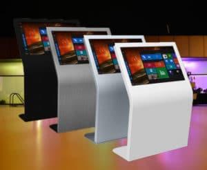 color options for digital signage panels